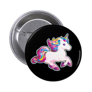 Kawaii Magical Candy Unicorn 6 Cm Round Badge