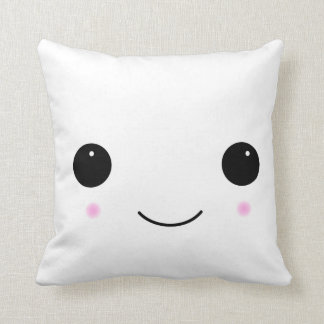 Kawaii Marshmallow Smile Pillow