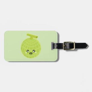 Kawaii Melon Luggage Tag