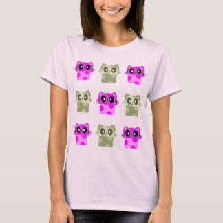 kawaii meowshroom meow mushroom kitty cat T-Shirt