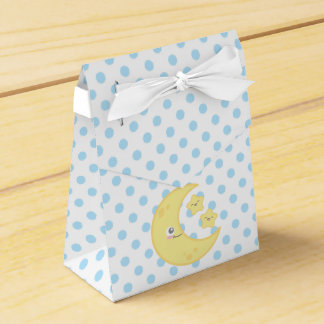 Kawaii Moon and Stars Gift Box Wedding Favour Boxes