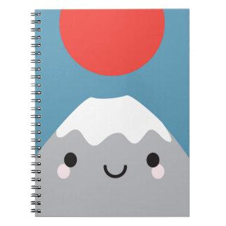 Kawaii Mt Fuji Notebook