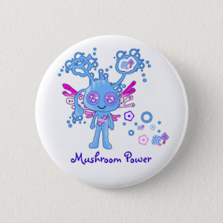 Kawaii Mushroom Power Button