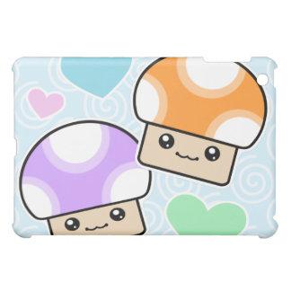 Kawaii Mushy Puffs Mushrooms Case For The iPad Mini
