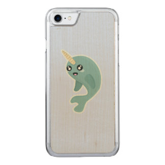 Kawaii Narwhal Carved iPhone 8/7 Case