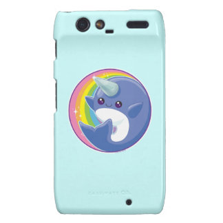 Kawaii Narwhal Droid RAZR Cases