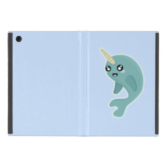 Kawaii Narwhal Cover For iPad Mini