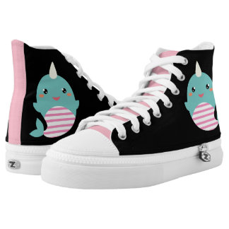 Kawaii Narwhal High Tops