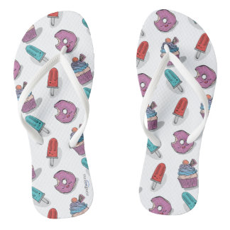 Kawaii nearly Food Flip Flops