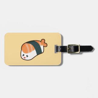 Kawaii nigiri Salmon Bag Tag