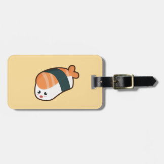 Kawaii nigiri Salmon Luggage Tag
