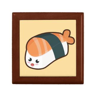 Kawaii nigiri Salmon Small Square Gift Box