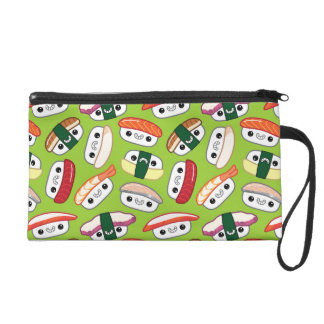 Kawaii Nigiri Sushi Wristlet Clutch Makeup Bag