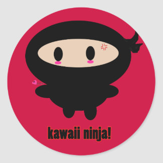Kawaii Ninja Sticker