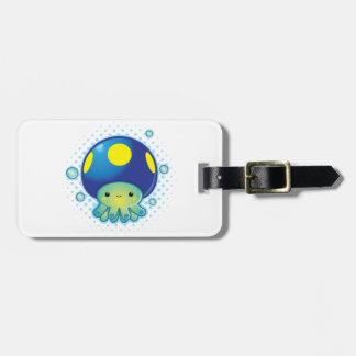 Kawaii Octopus Mushroom Bag Tag