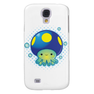 Kawaii Octopus Mushroom Galaxy S4 Case