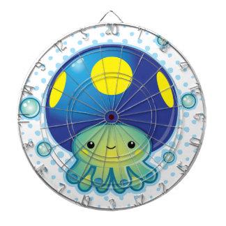 Kawaii Octopus Mushroom Dartboard