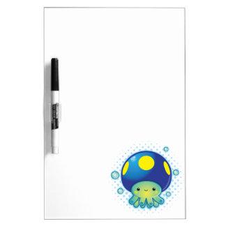 Kawaii Octopus Mushroom Dry-Erase Whiteboards