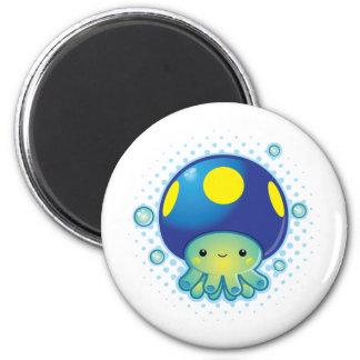 Kawaii Octopus Mushroom Fridge Magnet