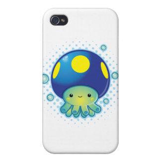 Kawaii Octopus Mushroom iPhone 4 Cases