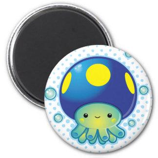 Kawaii Octopus Mushroom Fridge Magnets