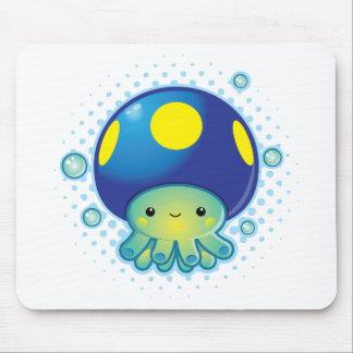 Kawaii Octopus Mushroom Mousepads