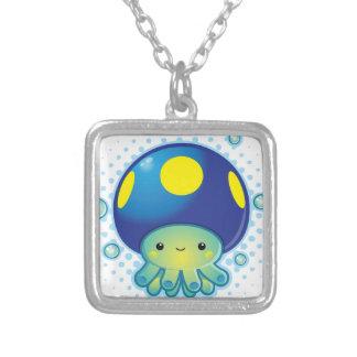 Kawaii Octopus Mushroom Pendants