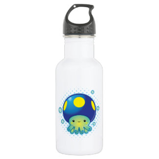 Kawaii Octopus Mushroom 532 Ml Water Bottle