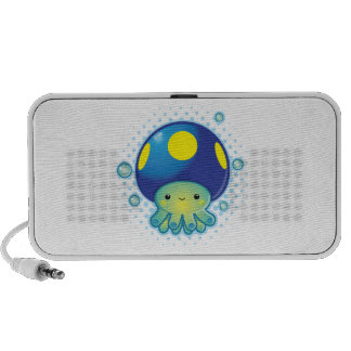 Kawaii Octopus Mushroom PC Speakers