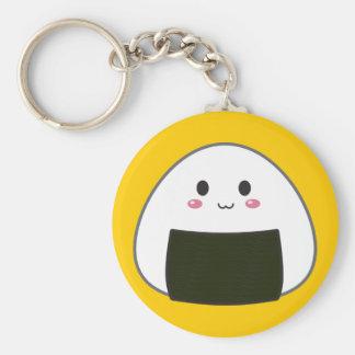 "Kawaii ""Onigiri"" Rice Ball Key Ring"
