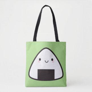 Kawaii Onigiri Rice Ball Tote Bag