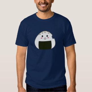 "Kawaii ""Onigiri"" Rice Ball with Bitemark T-shirts"