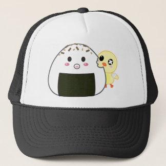 "Kawaii ""Onigiri"" Rice Ball with Ejiki the Chick Cap"