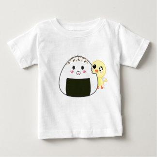 "Kawaii ""Onigiri"" Rice Ball with Ejiki the Chick Tshirt"