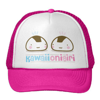 kawaii onigiris trucker hat