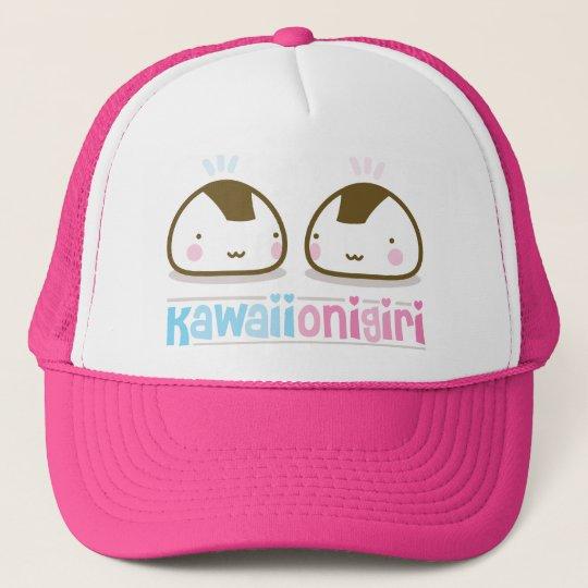 kawaii onigiris trucker hat