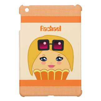Kawaii Orange Cute Cupcake Character IPad Mini iPad Mini Cases