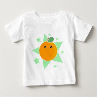 Kawaii Orange Fruit Infant Shirt