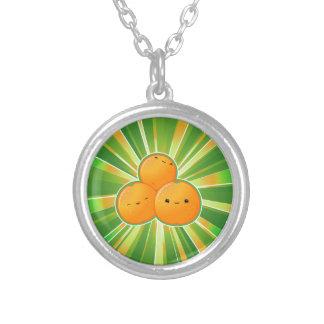 Kawaii Oranges Necklace