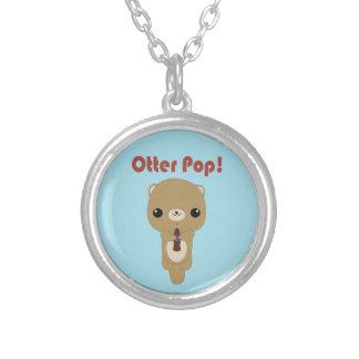 Kawaii Otter Soda Pop necklace