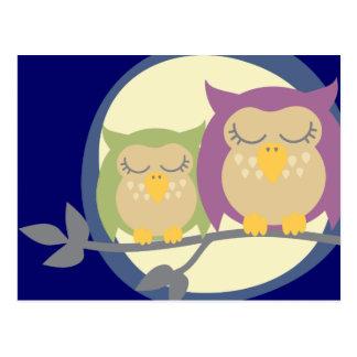 Kawaii Owl Postcard