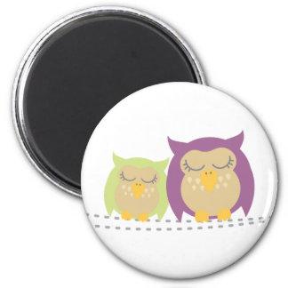 Kawaii Owls Magnet