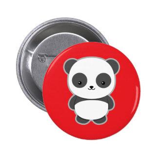 Kawaii Panda 6 Cm Round Badge