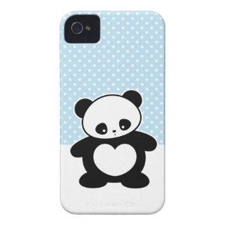 Kawaii panda blackberry cases