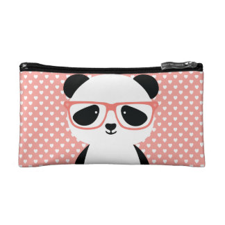 Kawaii Panda Cosmetic Bag