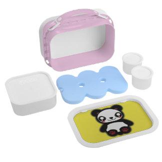 Kawaii panda luchbox lunch boxes