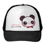 Kawaii Panda - Personalised Cap