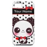 Kawaii Panda - Personalised iPhone 5 Cover