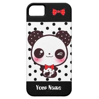 Kawaii Panda - Personalized iPhone 5 Cases