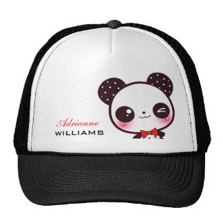 Kawaii Panda - Personalized Mesh Hats